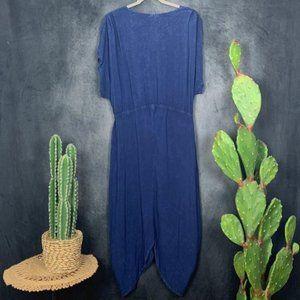 Anthropologie Dresses - 🆕The Odells Harem Blue Mineral Wash Dress LP